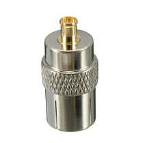 MCX штекер,чтобы уговорить коаксиальный разъем женщина тв антенны конвертер адаптер антенна, фото 2