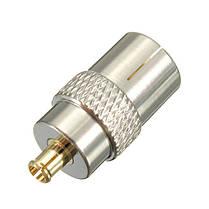 MCX штекер,чтобы уговорить коаксиальный разъем женщина тв антенны конвертер адаптер антенна, фото 3