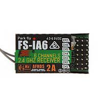 Flysky фс-ia6 2.4G 6CH AFHDS Приемник для FS-i10 FS-i6 Передатчик