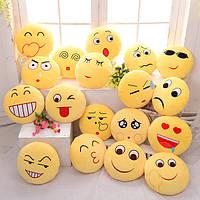 Симпатичные плюшевые диванные подушки с эмоциями