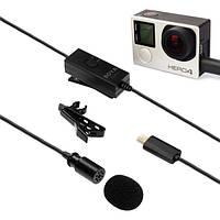 Боя по-gm10 конденсаторный петличный микрофон для GoPro герой 4/2/3/3+