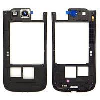 Средний корпус рама ремонт частей для Samsung галактики S3 / i9300 (розовый)