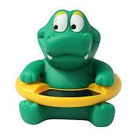 Творческий животных ребенок младенец ванной душ ванна Плавательный ЖК резины поплавок тестер температуры термометр игрушки