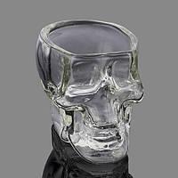 Кубок 100мл умница Glass Clear Skull Водка Виски Кубок Творческий прозрачном Бар Стекло