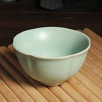 Керамика ручной работы кунг-фу чай чашка лепестков шаблон долговечные чашки чая