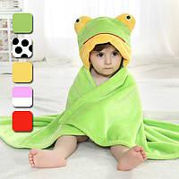 Милые животные мультфильм ребенка детская обернуть мягкой фланелевой parisarc одеяло одеяло халат