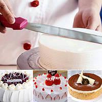 8 дюймов нержавеющая сталь торт кремом масло шпатель скребок