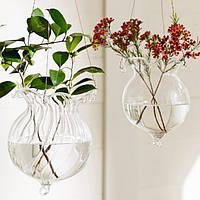 Листьев лотоса гидропоники растения цветут стеклянная ваза Главная Тусовщики украшения