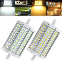 R7s модифицированная 18вт номера-затемняемый Сид SMD 5730 118мм 48 LED свет лампы 85-265v