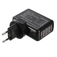 4 Порт USB многофункциональный переменного тока 5.0V 2.1a адаптера US/EU/UK/AU плагина зарядное устройство стены