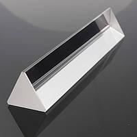 15см Физическая оптическая стеклянная тройная призма Треугольная призма - 1TopShop