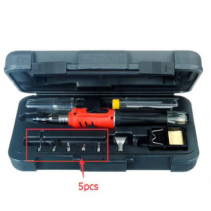 5 штук замены советы для hs-1115k 10 в 1 паяльник беспроводные сварочной горелки, фото 2