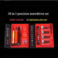 38 in 1 Отвертка Set Precision Multifunction Repairing Отвертка Техническое обслуживание Инструмент Набор