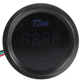 52mm авто тахометр тахометр цифровой датчик синий LED счетчик оборотов 1TopShop