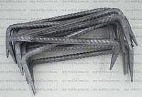 Строительная скоба 8*300 мм неокрашенная, фото 1