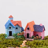 DIY ремесло пейзаж кукольный домик дом комнатные растения декор сада