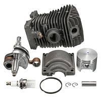 Двигатель Мотор STIHL MS250 Цилиндрический поршневой цепной пильный станок для Stihl 023 025 MS230 MS25