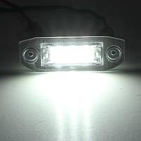 3 LED белый число фонарь освещения номерного знака-Лампа для Вольво S80 S60 и с70 V70 не электронной отметки