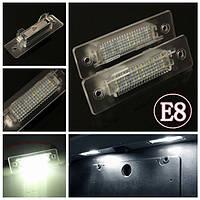 2 X белый LED число фонарь освещения номерного знака-Лампа для Порше 911 каррера электронной отметки