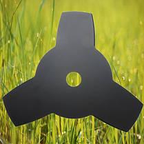 Кусторез лезвие металлический диск 25.4 3 зуба инструмент Strimmer сорняков, фото 3