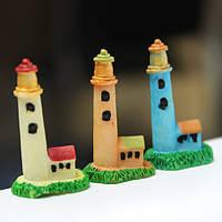 Мини смола Маяк микро-ландшафтных украшений сада поделки декор