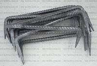 Строительная скоба 12*350 мм, неокрашенная, фото 1