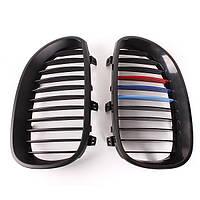 Передний м-Цвет почек глянцевые окрашенные решетки для BMW E60 и e61 5-серии