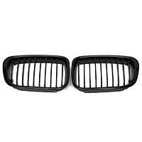 Блестящая черная решетка радиатора для BMW 3 серии E46 99-01 4door 323 325