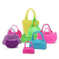 10pcs Mix Мода аксессуары сумки для Барби Кукла Симпатичные игрушки