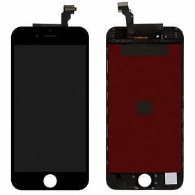 Дисплей (экран) для Apple iPhone 6  с сенсором (тачскрином) черный Оригинал