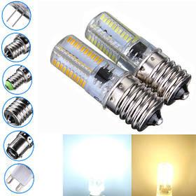 Е17 затемняемый 3W белый/теплый белый 3014smd LED шарик силиконовый 110-120в 1TopShop