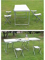 6ft алюминиевый стол портативный лагерь регулируемые эстакады складной столик Уютные садики и газончики
