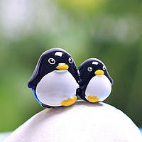 Смола мини пингвин микро-ландшафтных украшений сада поделки декор