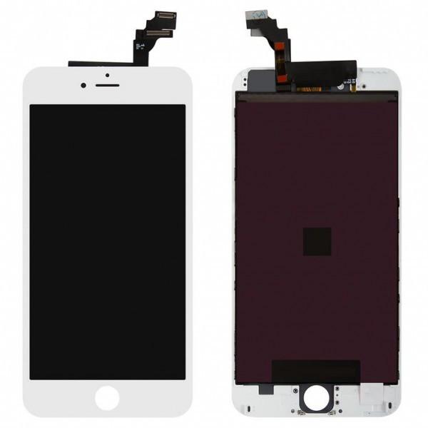 Дисплей (экран) для iPhone 6 Plus A1522 с сенсором (тачскрином) белый оригинал (Китай)