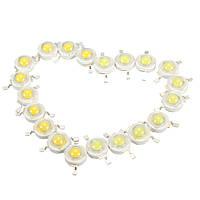 10 шт 3W Сид LED Лампа chips 200-230lm белый/теплый белый бисер