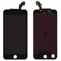 Дисплей (экран) для Apple iPhone 6 Plus + с сенсором (тачскрином) черный Оригинал