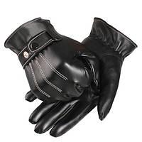 Зимние мотоциклетные мужские роскошные перчатки для сенсорных экранов Touch Screen