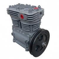 ПК-310 Компрессор 2-х цилиндровый (со шкивом) (320 л/мин) МАЗ, КРАЗ, УРАЛ, Икарус
