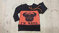 Батник туника для мальчика Mafia