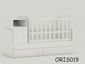 Кроватка-трансформер для новорожденного Marica Oris-mebel ORIS019