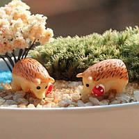 Микро-ландшафтных украшений мини смолы сад ежик поделки декор
