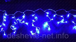 Светодиодная гирлянда Бахрома 100LED 3мх25см белый