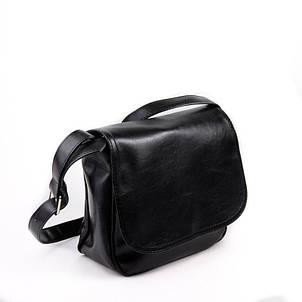 a42ebf1eec85 Женская сумка черная стильная с длинным ремешком М52-63: продажа ...