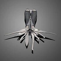 11 в 1 Многофункциональный инструмент плоскогубцы нож пила открывашка, фото 2