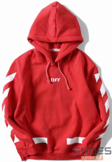 Худи Off-white Red (ориг.бирка)