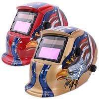 Орел солнечная авто затемнение сварочный шлем шлифовального дуговой аргонодуговой сварки MIG сварщиков маска 2 цвета