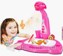 Сказочник проектор для рисования музыкальный, доска детская с проектором - рассказывает сказки, фото 3
