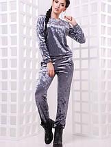 Женский спортивный велюровый костюм (Vivien fup), фото 3