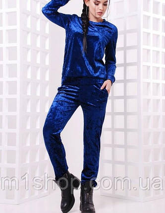 Женский спортивный велюровый костюм (Vivien fup), фото 2