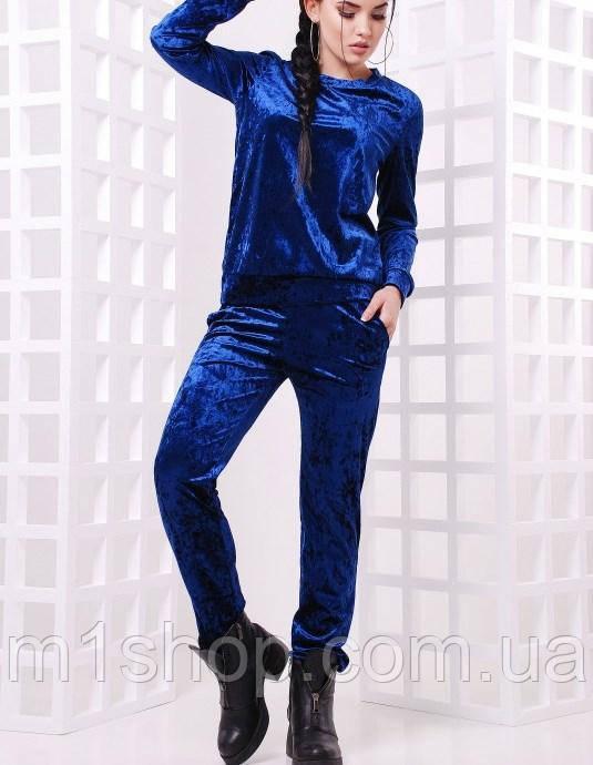Женский спортивный велюровый костюм (Vivien fup)